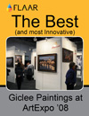 Giclee Painting at ArtExpo '08