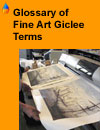 A comprehensive glossary of fine art giclee terms