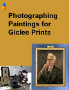 Options for Photographing Paintings to reproduce as Giclee Prints