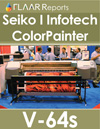 Seiko I Color Painter V 64s lite mild solvent inkjet printer reviews comparisons HP Designjet L25500 latex ink