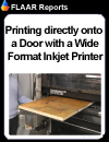 424 How to SUCCESSFULLY Print Directly onto a Door With a Wide-Format Inkjet Printer