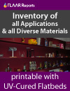 inventory of all applications & all diverse materials
