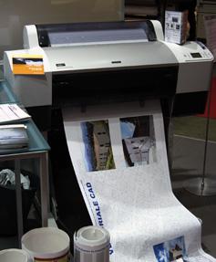 Epson Stylus 7400 Printing some samples