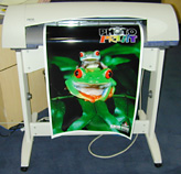 Chroma 24, wide format color plotter from Encad.