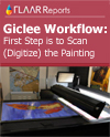 giclee workflow first step is to scan the painting