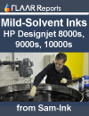 After-Market Mild Solvent Ink from Sam-Ink for HP-Seiko printers