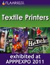 Textile printers exhibited at APPPEXPO 2011