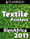 Textile printers exhibited at Sign Africa2011