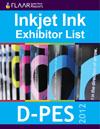 D-PES 2012 digital inkjet ink exhibitor list 2013