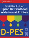 D-PES 2012 Epson DX printheads wide format printers list