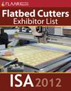 ISA 2012 CNC printers exhibitor list 2013