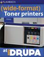 Wide-format toner printers at drupa 2012