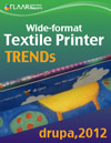 Textile Printer TRENDs exhibited at drupa 2012