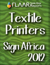 Wide-format textile printers exhibited at Sign Africa 2012