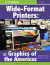Graphics of the Americas 2012, Wide formart printers, UV and textile exhibitors list