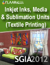 Inkjet Inks, Media, & Sublimating Units for Textile Printing at SGIA 2012
