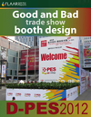 D-PES 2012 Good and bad trade show booth design
