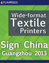 Sign China Guangzhou 2013, wide-format textile printers