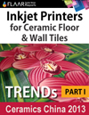 Ceramic Printer TRENDs observed at Ceramics China 2013