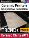 Ceramic Printer TRENDs observed at Ceramics China 2013 part 3