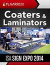 ISA 2014 coaters laminators exhibitor list