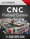 ISA 2014 CNC flatbed cutters