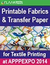 FESPA 2014 fabric and textile paper for textile printing