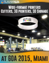 GOA 2015 TRENDs FLAAR-Reports covers 3D printers signage