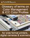 Glossary of terms on color management
