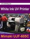 Mimaki UJF 605c UV InkJet Printer