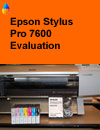 The comprehensive report is now available, one of the few independent reports in this depth yet written on any Epson printer