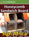SignAfrica 2012 honeycomb media sandwich board substrates manufacture distributor exhibitor list 2013