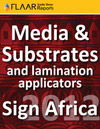 Sign Africa 2012 media substrates manufacture distributor exhibitor list 2013