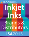 ISA-2013 FLAAR Report wide format inkjet inks UV eco solvent latex disperse dye acid reactive pigment manufacturers distributors