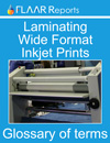 Laminating Prints glossary of Terms