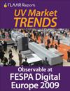 FESPA 09 UV Part II Market TRENDS UV-cured flatbed wide-format inkjet signage printers