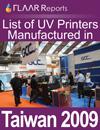 Taiwan List of UV Printers, 2009