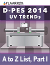 D-PES 2014 UV TRENDs A-to-Z LIST Part I