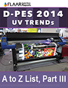 D-PES 2014 UV TRENDs A-to-Z LIST Part III