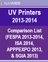 UV List comparison all tradeshows 2013-2014