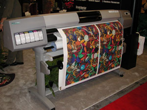 HP wide format printer