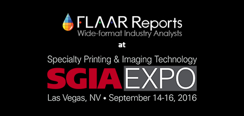 FLAAR Printer Team at SGIA Vegas 2016