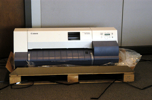 Canon W7250 wide format printer arriving Bowling Green