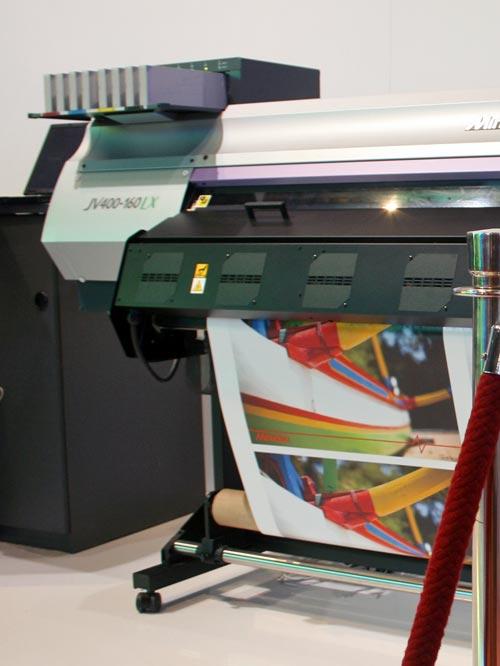 Mimaki JV400-130LX and Mimaki JV400-160LX latex ink printers