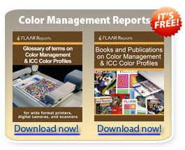 Recommendations on color management software and books for