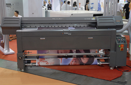 Roland FP-740 textile printer with ATPColor system for