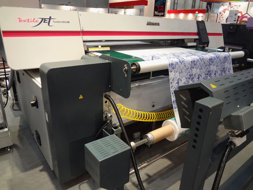 Comparing the Mimaki TextileJet, Tx3-1600 with the Yuhan